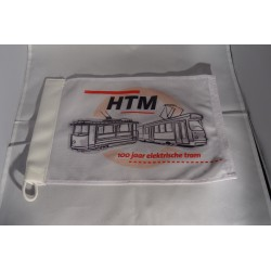 """Vlag HTM """"100 jaar elektrische tram"""""""